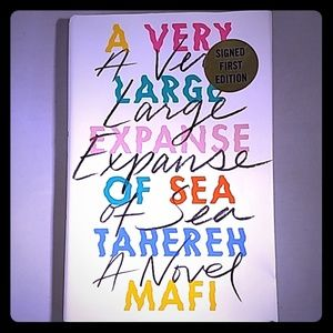 Signed First Edition: A Very Large Expanse of Sea